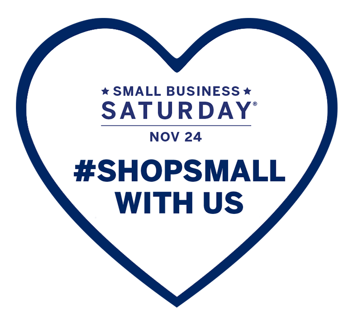 Small Business Saturday - November 24 - #ShopSmallWithUs